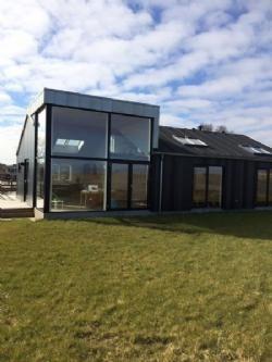 Nyt sommerhus i Eskov Strandpark i Selde - 2 - Stort indgangsparti